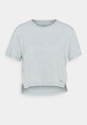 DAWNDREAM RELAXED - Basic T-shirt - silver blue heather