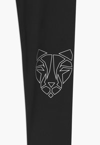 Puma - RUNTRAIN - Leggings - puma black/luminous pink - 2