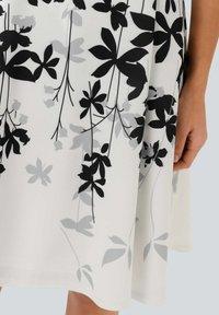 Alba Moda - Day dress - off-white grau schwarz - 4
