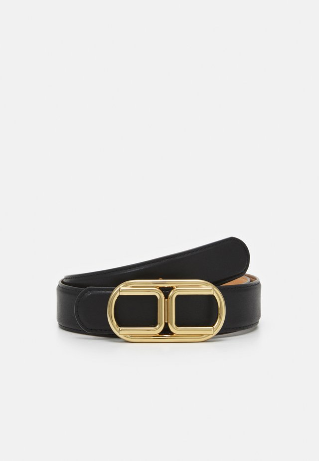 LOGO BELT - Vyö - nero