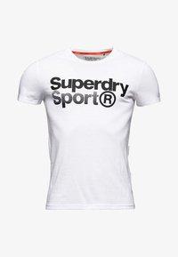 Superdry - MIT GRAFIK - T-shirts print - white - 5