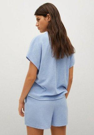 Overhemdblouse - hemelsblauw