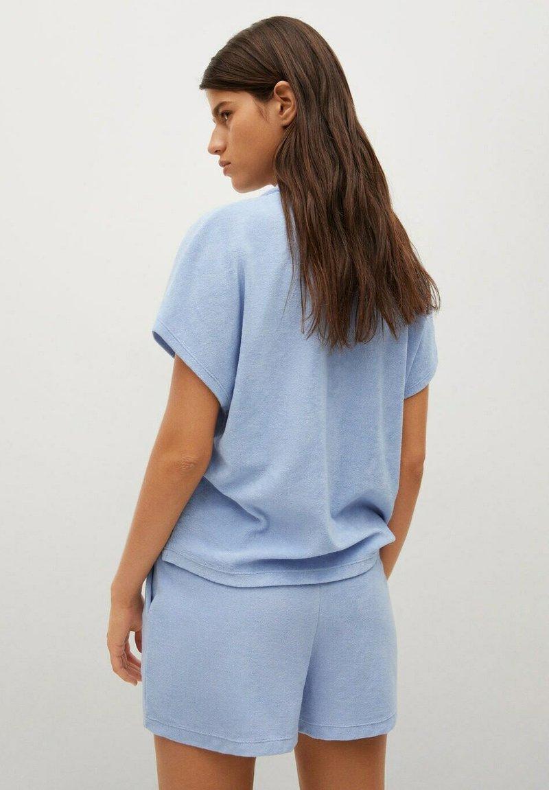 Mango - Overhemdblouse - hemelsblauw