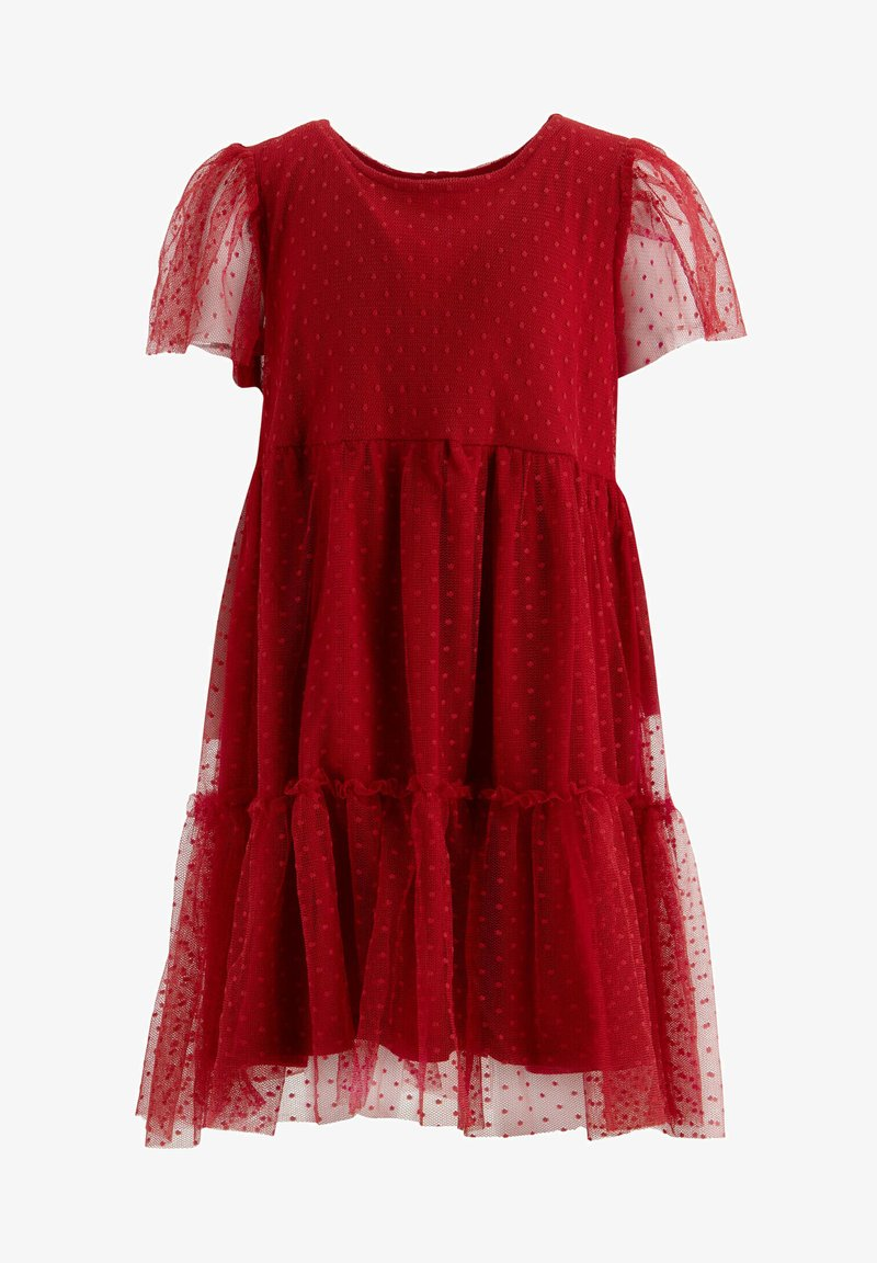 DeFacto - Cocktail dress / Party dress - red