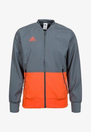 CONDIVO 18 PRESENTATION TRACK TOP - Training jacket - grey/orange