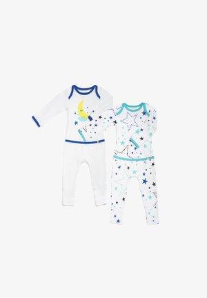 STARRY GAZE EASYWEAR - Pyjama - green and white