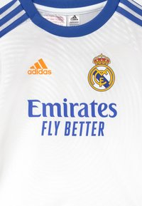 adidas Performance - REAL MADRID H BABY UNISEX - Klubové oblečení - white - 3