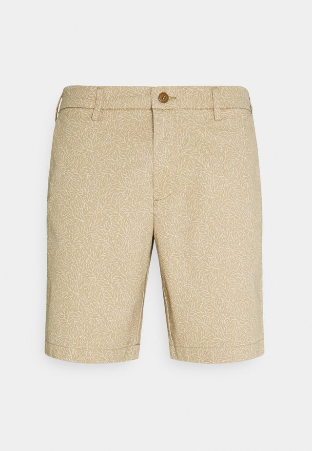 SMART SUPREME FLEX MODERN CHINO - Kraťasy - musgrave earth taupe