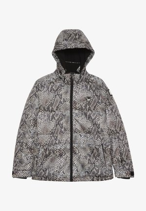 SKI TECHNICAL JACKET ALL OVER - Snowboard jacket - beige