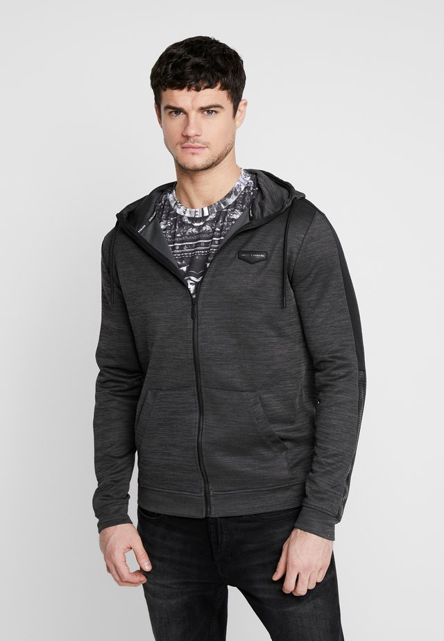 SPIKE HOOD - Training jacket - grey marl