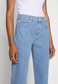 7 for all mankind - MALIA SIMPLICITY - Relaxed fit jeans - light blue - 3