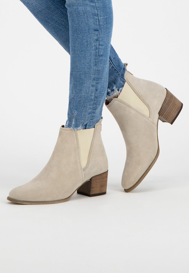 FARRELL - Classic ankle boots - sand
