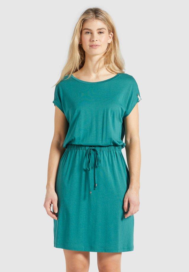 SAMMY - Sukienka etui - blaugrün