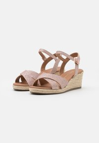 New Look Wide Fit - WIDE FIT PRAWN - Espadrilles - rose gold - 2