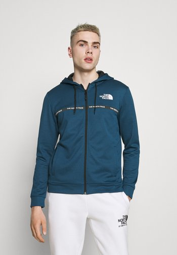 OVERLAY JACKET - Summer jacket - monterey blue