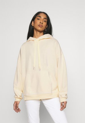 RIDER HOODIE - Huppari - transparent yellow