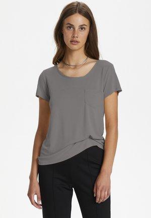 COLUMBINE  - T-shirt basic - brushed nickel