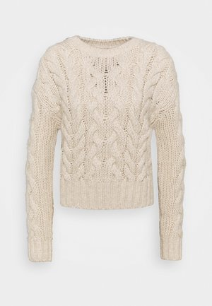 Jumper - chalk white