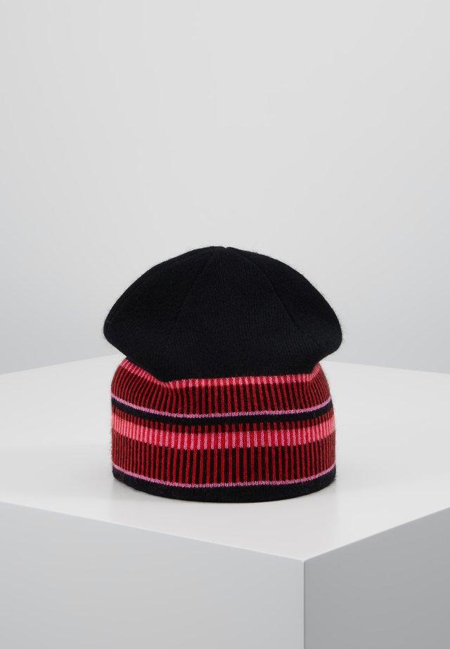 ELETTRA - Bonnet - black/red