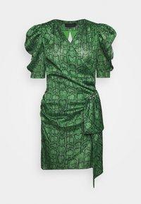 Birgitte Herskind - KATHINKA MINI DRESS - Vestido de cóctel - green - 0