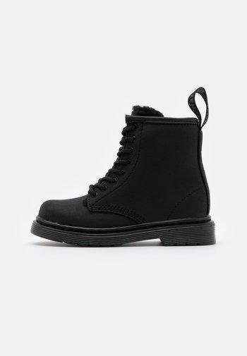 1460 SERENA MONO REPUBLIC WP UNISEX - Lace-up ankle boots - black