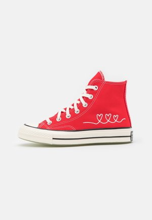 CHUCK 70 UNISEX - High-top trainers - university red/egret/black