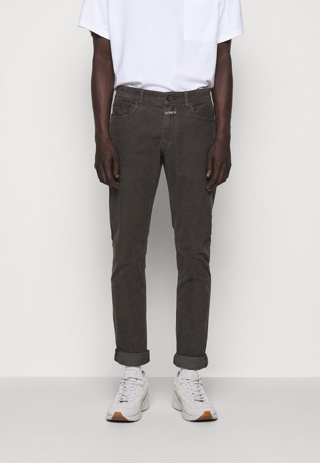 UNITY SLIM - Pantaloni - dark lava