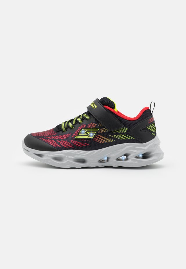 VORTEX FLASH - Zapatillas - black/red/lime