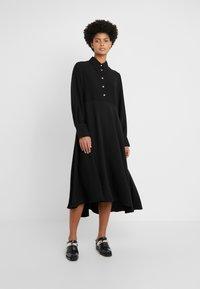 Rika - ROSA DRESS - Vestido camisero - black - 0