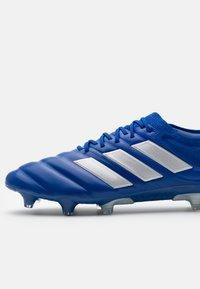adidas Performance - COPA 20.1 FOOTBALL FIRM GROUND - Moulded stud football boots - royal blue/silver metallic - 5