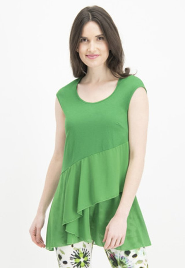MIT VOLANTS - Blouse - green