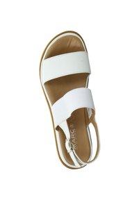 Marc - ROSA - Wedge sandals - weiß - 2