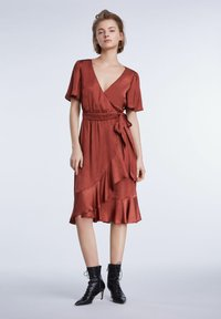 SET - Day dress - terracotta - 1