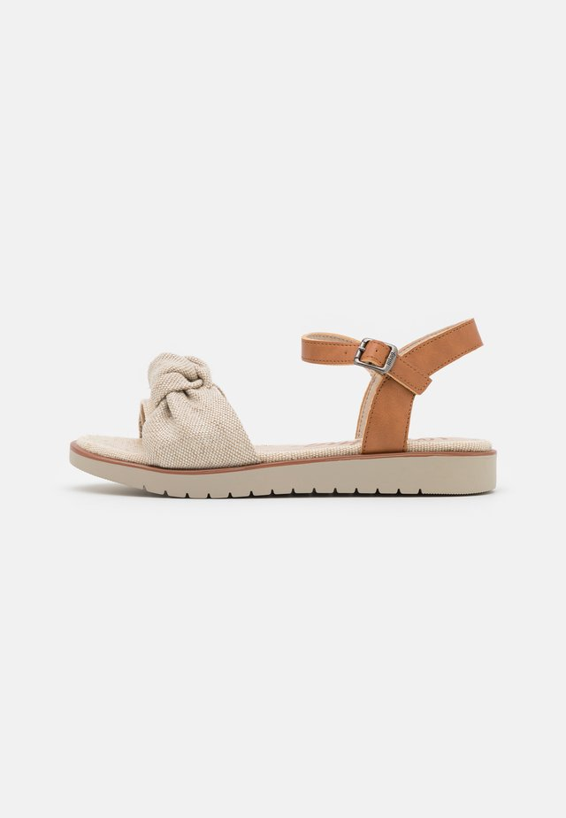 MARIE - Sandały - natural