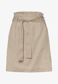 zero - A-line skirt - beige - 4