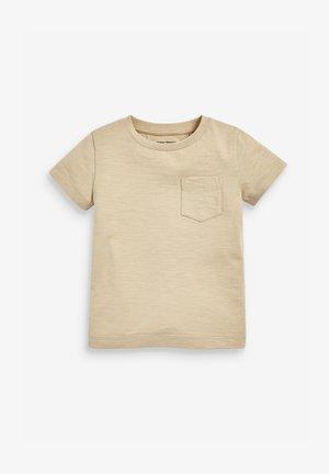 Camiseta básica - tan