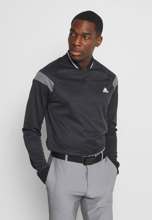 WARMTH 1/4 ZIP - Sweatshirt - black melange