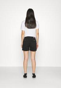 Tommy Jeans - HARPER HIGH RISE - Shorts - black - 2