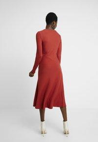Zign - BASIC - Abito in maglia - red - 3