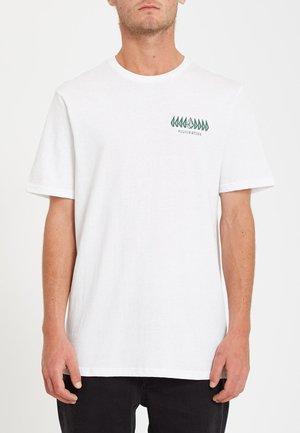 TROUPER - Print T-shirt - white
