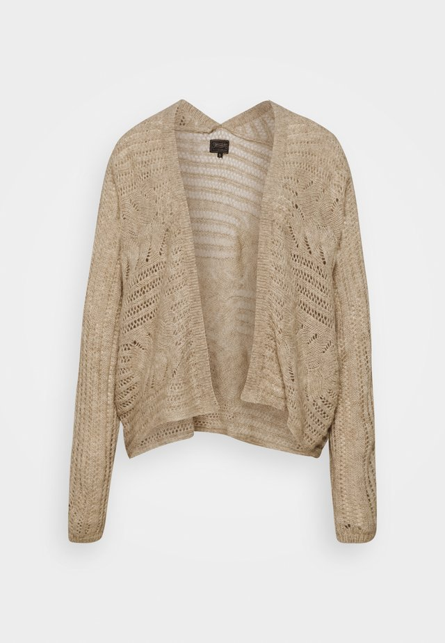 MIRANA BASIS - Cardigan - light beige