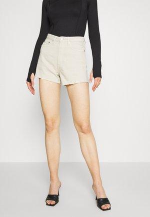 ROWE  - Shorts vaqueros - beige