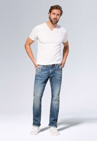 Camp David - Straight leg jeans - medium blue used - 1