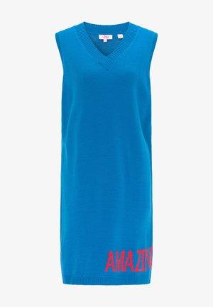 Jumper dress - classic blue