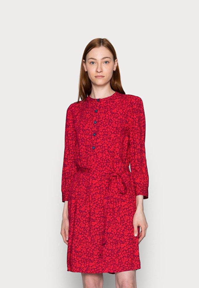 BRACELET DRESS - Denní šaty - red