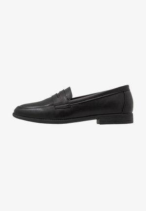 LAWRENCE PENNY LOAFER - Smart slip-ons - black