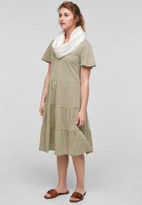 s.Oliver - Day dress - summer khaki - 1