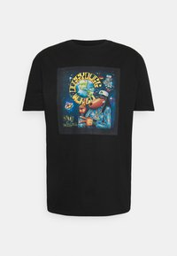 Nominal - SNOOP DOG TEE - T-shirt print - black - 0