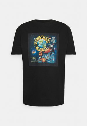 SNOOP DOG TEE - Printtipaita - black