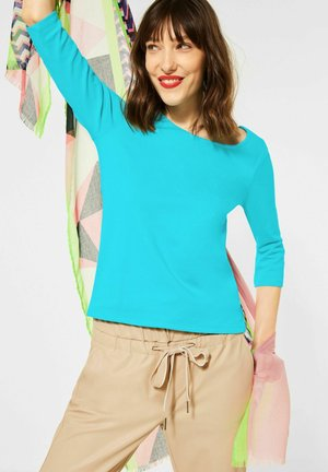 BASIC STYLE - Long sleeved top - türkis